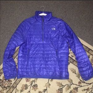 North Face pull over half zip jacket